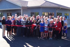 Stolly ribbon cutting