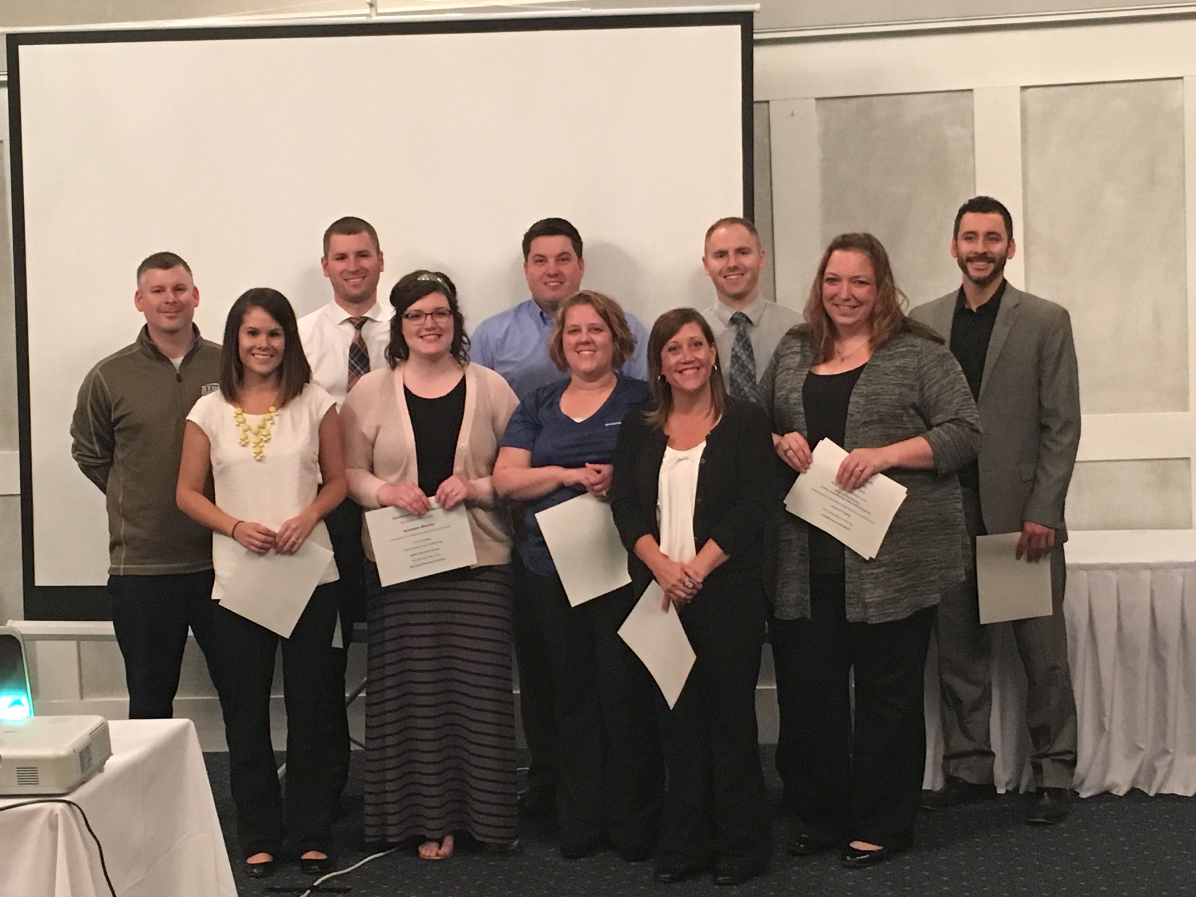 Staff Earns Education