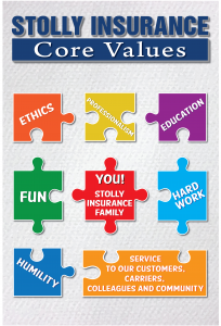 stolly insurance core values